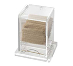 Cal-Mil 295 Clear Acrylic Unwrapped Toothpick Dispenser