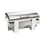 Cal-Mil 3017-55 Rectangular Luxe Chafer - Stainless Steel