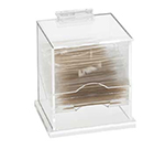 Cal-Mil 304 Clear Acrylic Wrapped Toothpick Dispenser, 4.5 x 3.5 x 5.25-in H