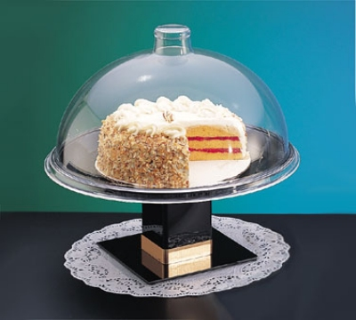 Cal-Mil 311-15 15-in Dome Type Gourmet Cover, Clear Acrylic