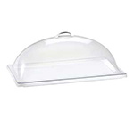 "Cal-Mil 321-12 Dome Type Chafer/ Display Cover, 12 x 20 x 7.5"" H, Polycarbonate"