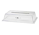 Cal-mil 329-13 Display Cover w/ Long Hinge & Flat Top, 13 x 18 x 4-in H