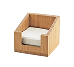 "Cal-Mil 3309-60 6-1/4"" Napkin Holder - Bamboo"