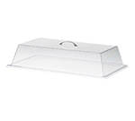 Cal-Mil 327-9 Rectangular Standard Display Cover w/ Flat Top, 9 x 26 x 4-in High