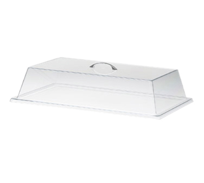 Cal-Mil 327-18 Rectangular Standard Display Cover w/ Flat Top, 18 x 26 x 4-in H