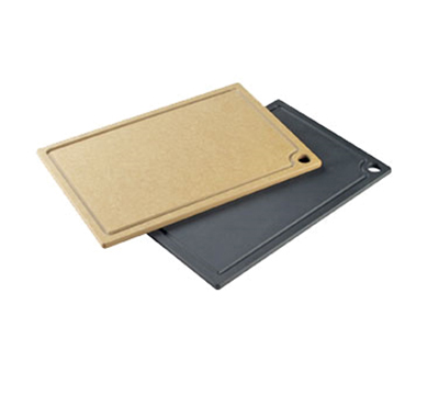 "Cal-Mil 3337-1520-13 Cutting Board - 15x20"" Composite, Black"