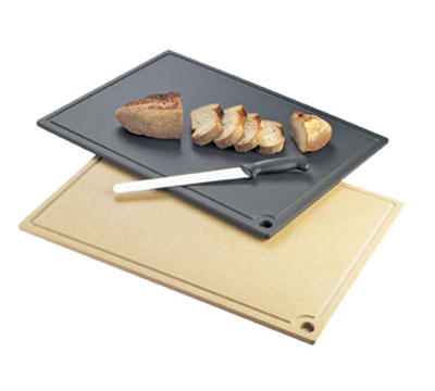 "Cal-Mil 3337-1824-14 Cutting Board - Hanging Hole, 18x24"", Natural Wood"