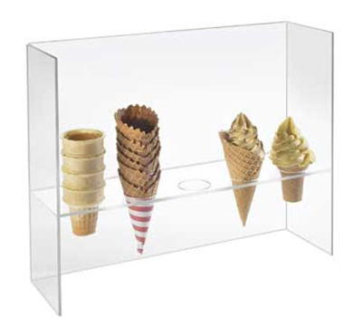 CAL-MIL 394 5-Hole Cone Holder w/ Guard & 2 Diam Hole Siz...