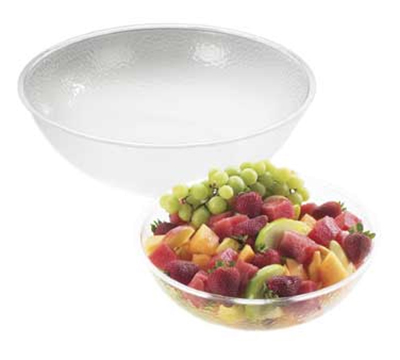 Cal-Mil 401-18-34 18-in Salad Bowl w/ 16-qt Capacity, Pebble Acrylic