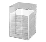 Cal-Mil 635-12 5.5-in Square Napkin Holder For 5-in Napkins, Clear Acrylic