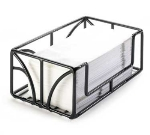 "Cal-Mil 808-13 Tabletop Paper Towel Holder, 10 x 6 x 4"" High, Black Wire"