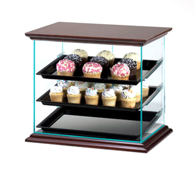 Cal-Mil 815-52A Attendant Serve Display Case w/ Trays, 21 x 16.75 x 18.25-in High