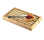 "Cal-Mil 823 Bamboo Crumb Catcher, 13.75 x 8 x 1.5"" High"