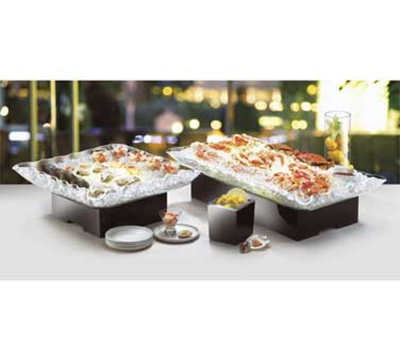 "Cal-Mil 904-12 Illuminated Ice Display w/ Color Panels, 54 x 24 x 3.5"" Deep"