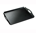 "Cal-Mil 930-1-13 Low Profile Room Service Tray, 22.5 x 17"", Black"