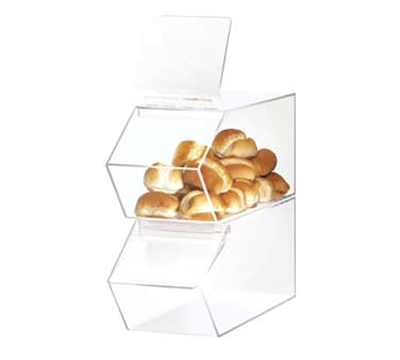 Cal-Mil 992 Stackable Food Bin, 7.5 x 19.5 x 8-in High, Clear Acrylic