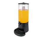 Cal-Mil JC201 3-gal Econo Beverage Infusion Dispenser - Ice Chamber, Acrylic, Black