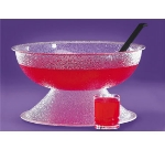 Cal-mil P142 18-in Punch Bowl w/ 16-qt Capacity, Pebble Color