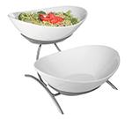 Cal-Mil PP2100-39 Bowl Display - Porcelain, Platinum