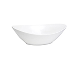Cal-Mil PP2150 135-oz Oval Bowl - Porcelain, Bright White