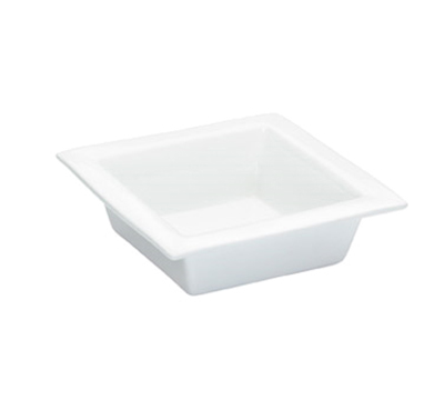 Cal-Mil PP351 84-oz Square Bowl - Oven, Microwave, Freezer and Dishwasher Safe, Bright White