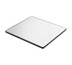 "Cal-Mil PT253 7-1/2"" Round Gourmet Display Mirror Tray - Acrylic"