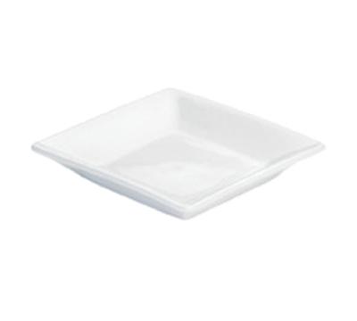 Cal-mil TP350 Square Plate - Porcelain, White