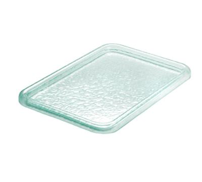 Cal-Mil UG101-43 Rectangular Gourmet Glacier Serving Tray - acrylic, Green