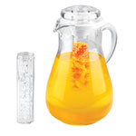 "Cal-Mil JC102 11"" Gourmet Pitcher - Acrylic, Clear"