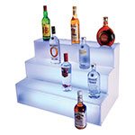 Cal-Mil LQ31 3-Tier Liquor Display - Frost