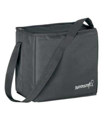 Ravenscroft W0113 Ultimate Wine Carrying Bag, Holds 6 Bottles/Glasses, Partitioned, Shoulder Strap