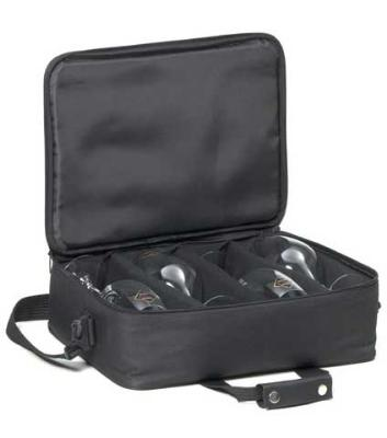 Ravenscroft W0115 Ultimate Bring Your Own Glasses Bag, Fits 4 Sommelier Bordeaux Glasses