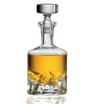 Ravenscroft W3134BL 34 oz. Beveled Blade Whiskey Decanter
