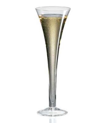 Ravenscroft W3343 8 oz. Flute Hollow Stem Wine Glass
