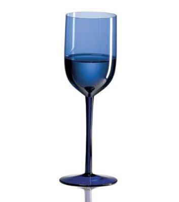 Ravenscroft W6510 12 oz. Cobalt Blue Long Stem Water Glass