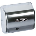 American Dryer AD90-SS Hand Dryer - Auto Sensor, 180-CFM/min, Stainless