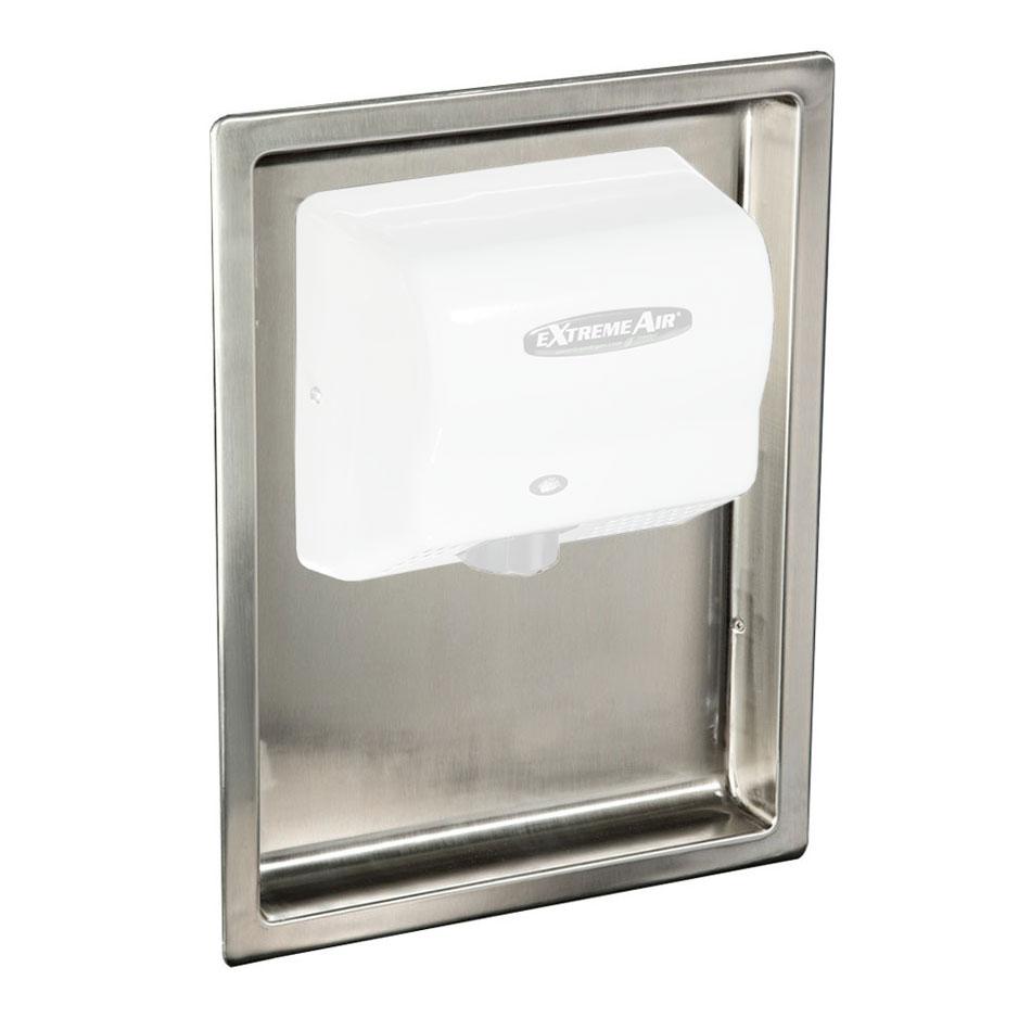 American Dryer ADA-RK Recess Kit - Seamless Design, Stainless