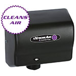 American Dryer CPC9-BG Hand Dryer - High Speed, Sanitizes, Purifies, Steel Black Graphite