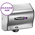 American Dryer CPC9-C Hand Dryer - High Speed, Sanitizes, Purifies, Steel Satin Chrome