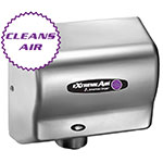 American Dryer CPC9-SS Hand Dryer - High Speed, Cold Plasma Clean, Stainless