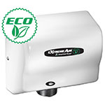 American Dryer EXT7M EXTREMEAIR Energy Efficient Hand Dryer. NO Dedicated Line Required, White Epoxy