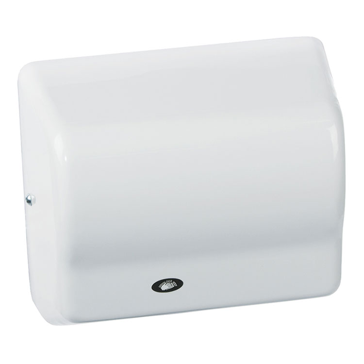 American Dryer GX1 Automatic Hand Dryer, White ABS, 120V