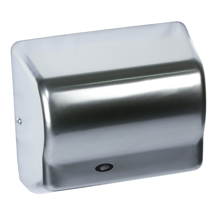American Dryer GX1-C Hand Dryer - Automatic, Satin Chrome, 120V
