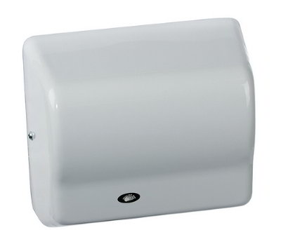 American Dryer GX3-M Automatic Hand Dryer, White Epoxy, 208-240V