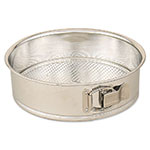 Browne Halco 011 Spring Form Cake Pan, 11-1/4 x 2-3/4 in, Polished Tin