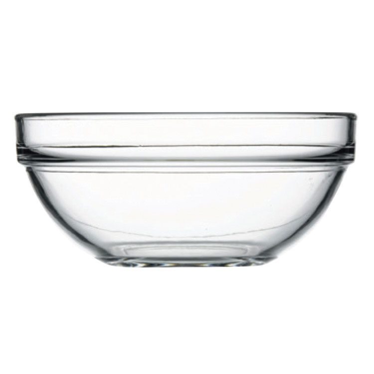 Browne 114928 20-oz Pasabahce Chef Bowl - Glass, Clear