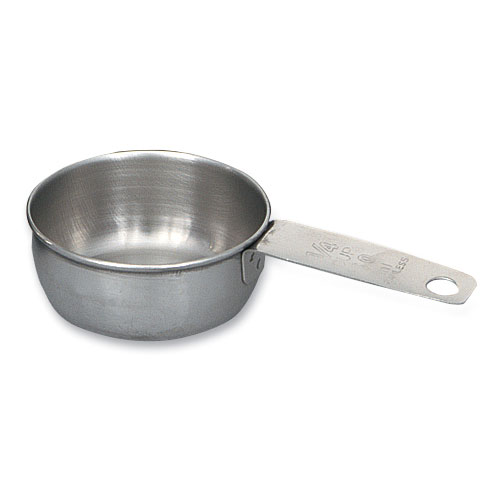 Browne 1190MC-025 1/4-Measuring Cup w/ Graduated Inside & Out, Solid Handle, Stainless