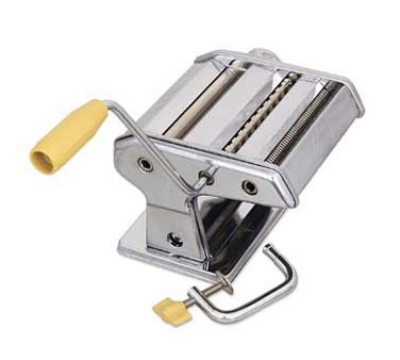 Browne Halco 12151 Table Mounted Pasta Machine, Noodle Cutter, Stainless Steel
