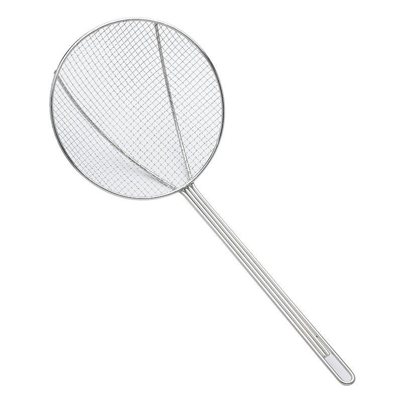 Browne Halco 1309T 9-in Round Square Mesh Skimmer w/ Long Hooked Handle