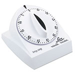 "Browne 1929 Minute Timer, 2-3/4"" Face, Range 1 min - 1 hr, 18 Second Ring"